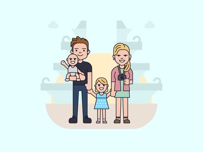 Jansen family goes to Bali