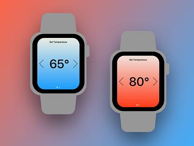 Daily UI 007 Settings apple watch design apple watch 007 ux design daily ui dailyui