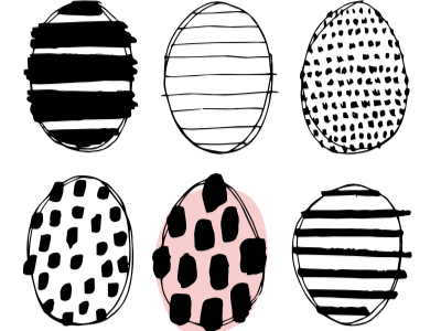 Graphic Eggs illustration design graphic eggs easter