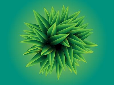 Bamboo Leaves bamboo leaves design gradient vector illustration