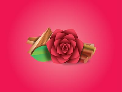 Rose, Sandalwood, Rhubarb