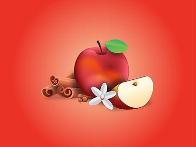 Apple, Cinnamon, Clove