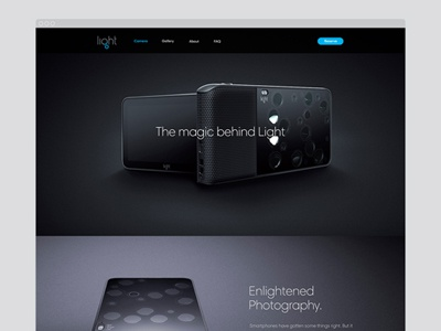 Light.co charactersf character responsive product dslr