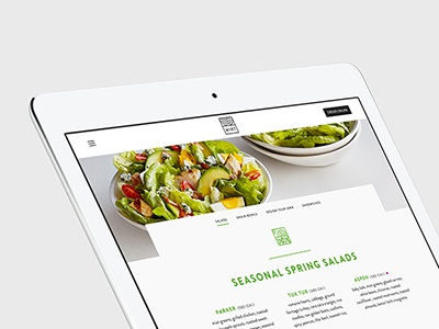 Mixt ecommerce restaurant food product responsive character charactersf