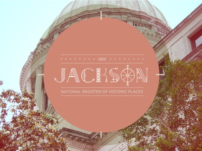 State Capitol Badge Project - Jackson, MS