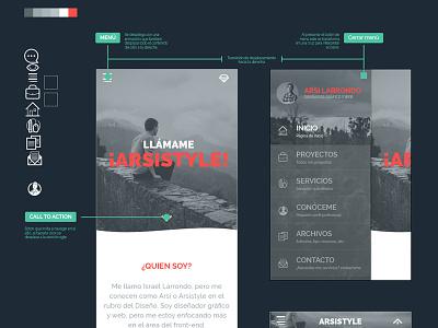 Portfolio Flow mobile first illustrator portfolio workflow flow