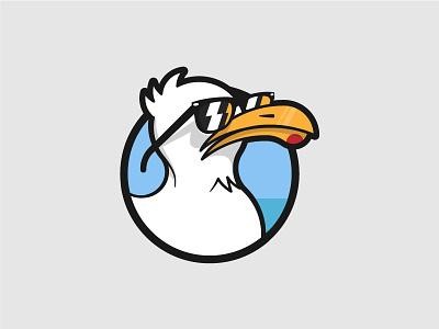 Isotipo Xeagul isologo isotipo seagull logo
