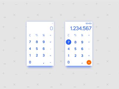 Daily Ui 004   Calculator calculadora calculator 004 dailyui
