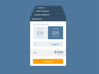 Plan Selection & Payment Flow Concept