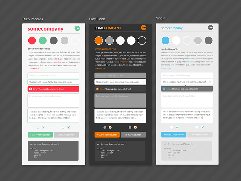 Exploration Style Guides style guide ui standards