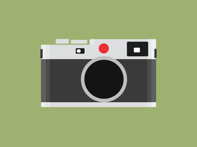 Leica leica illustration colour shape contour camera