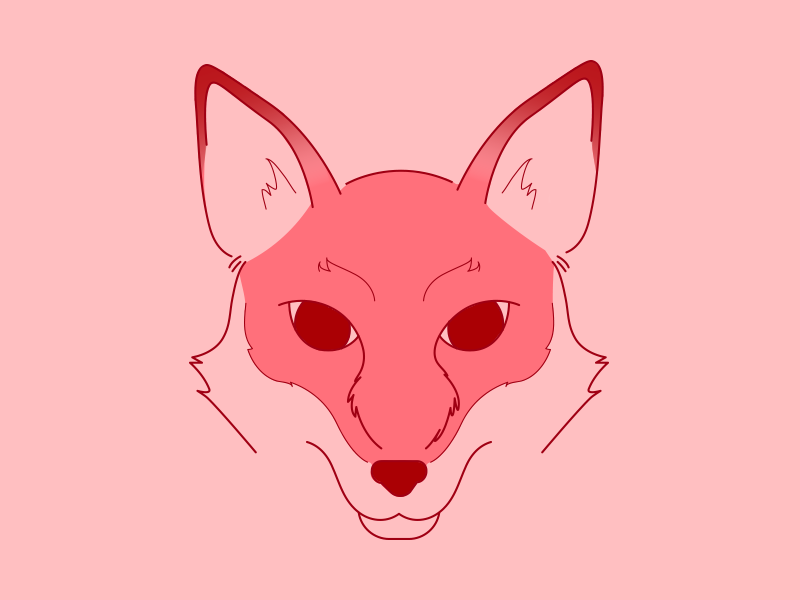 Red Fox (WIP) colour line art animal illustration red fox