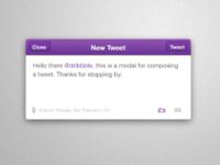 Compose a Tweet