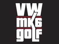 VW Mk6 Golf Logo