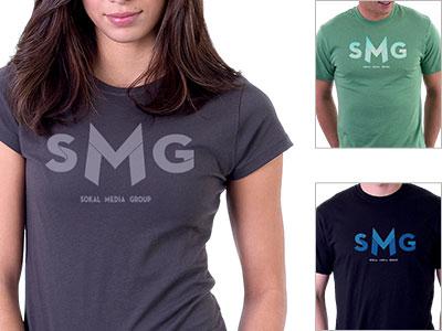 SMG tshirt tshirt apparel logo wearables clothes design fashion