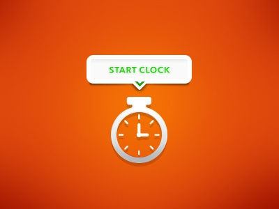 Microinteraction (static) Freelance Time Clock tasks profile motion mobile microinteractions interactions app animation ui