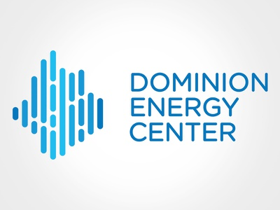 Dominion Energy Center design minimal icon clean simple logo