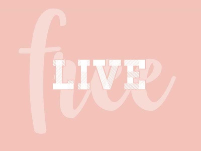 Live free type letters sketch graphic design type lettering