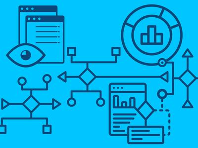 Data Infographic icon visualization data infographic vector illustration design