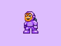 onGameStart 2012 pixel-art mascot