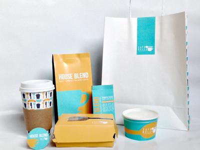 Cafe Bella Packaging