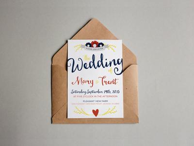 Wedding Annoucement