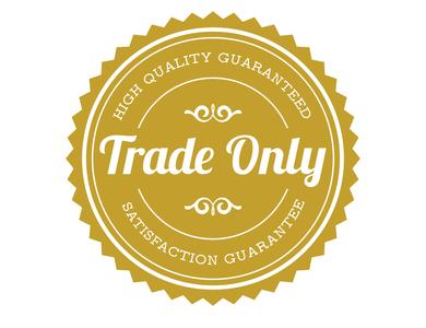 Trade Seal design minimal flat vector branding illustration