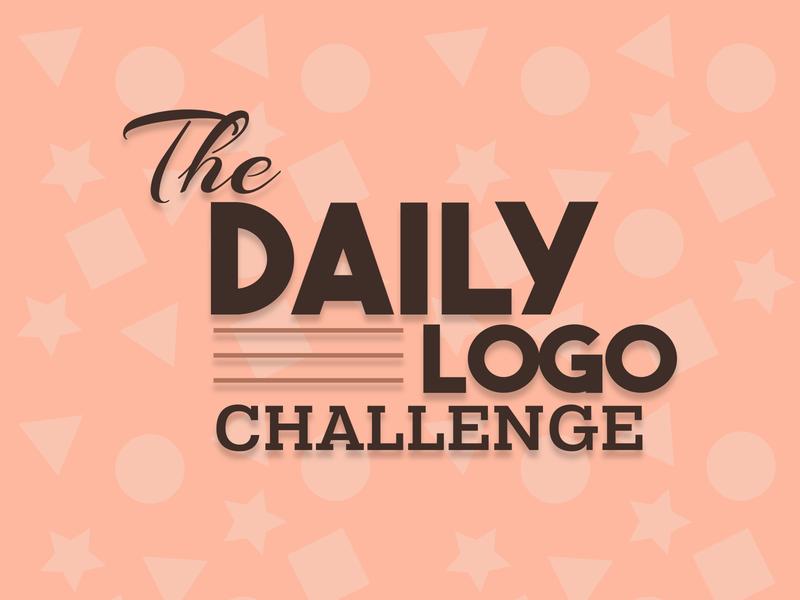 Dailylogochallenge letter vector flat branding icon dailylogochallenge branded logo design