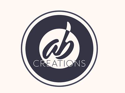 AB Creations illustrator photographer creation photography photo business branding branded vector logo minimal icon flat design