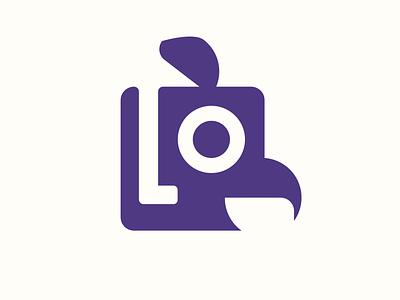 Roostr illustration app branding logo vector icon flat minimal design