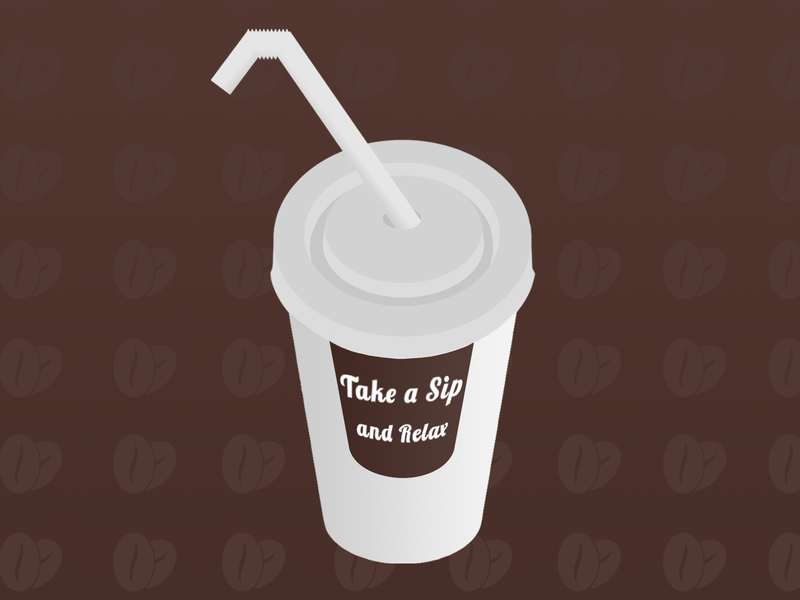 Coffee Cup coffee bean cup coffee cup coffee illustration food design