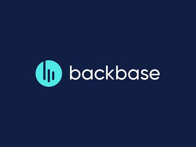 Backbase modern app logo design modernity minimalism flat logo minimalist logo modernist modern logo logo style logo sign logo idea logo concept letter b logo circle logo logotype logomark icon logo app logo logo design branding icon app