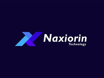 Naxiorin Modern Technology Logo Design