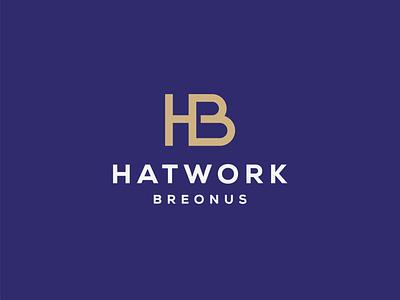 H+B Monogram Logo lettermark vector graphic design letter designsymbol symbol simple logo modern clean logo designer personal branding logotype b logo h logo letter b letter h monogram monogram logo logo design logo
