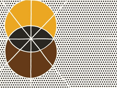 Black Magic Roast black magic geometric roughly branding coffee roast coffee graphic design