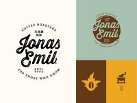 Jonas Emil Visual Identity