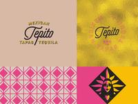 Tepito Mexican Tapas Visual Identity