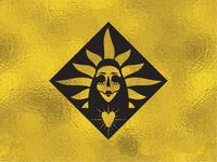 Tepito Santa Muerte Logo Mark