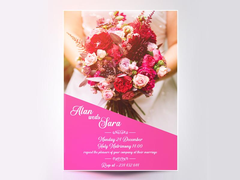 Minimal Wedding Card Tutorial By Jai Siva Kumar Dribbble Dribbble