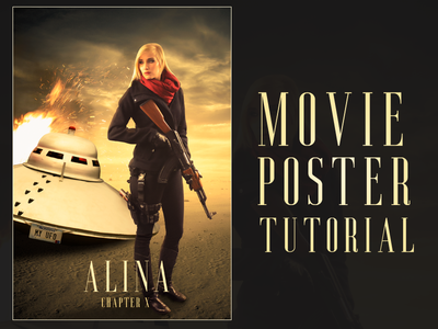 Action Movie Poster Tutorial