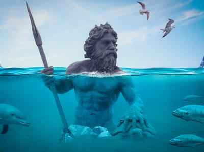 AquaMan Photo Manipulation Tutorial