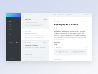 Mail Client Design Concept