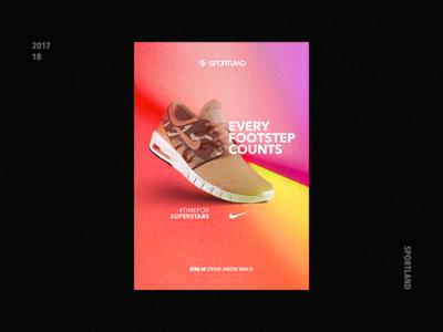 Sneaker Poster Concept