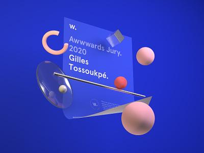 Awwwards Jury 2020 jury illustrator setdesign awwwards design c4d