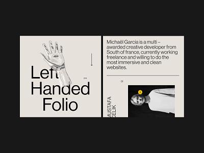 WIP Dev folio web minimal 3d portfolio graphic design design typogaphy
