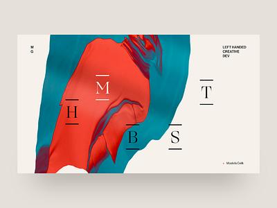 Explore web design graphic design developer portfolio minimal typography design