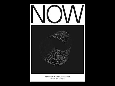 Now available :) art direction freelance minimalism blackandwhite layout poster type kinetictype kinetic animation design