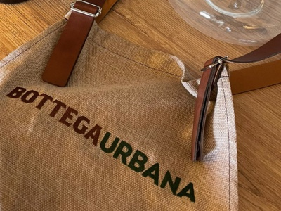 Bottega Urbana | Apron logo design apron graphic design food brand logo bistrot restaurant logo brand design vector brand identity branding logo adobe design