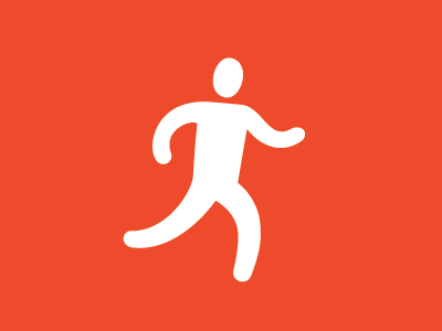 Run run pictogram
