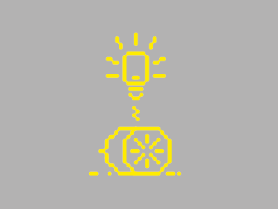 Making Light out of Life's Lemons icon pictogram